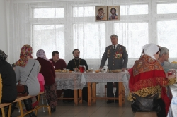 22 февраля 2015 г. - Встреча ветеранов боевых действий с семьями погибших и прихожанами в Храме