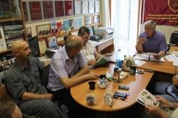 22 июля 2016г. - Заседание Совета Омского регионального отделения Ассоциации