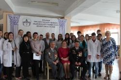 22 января 2016г. - Урок Мужества со студентами медицинского колледжа города Омска