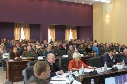 24 марта 2015г. - Проведение офицерского собрания Омского региона