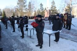 25 февраля 2015 г.- Участие ветеранов боевых действий в торжественном принятии  Присяги