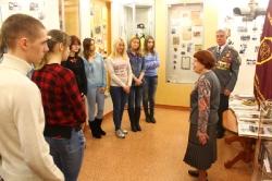 5 марта 2015 г. - Проведение Урока Мужества в музее УМВД России со студентами ВУЗов Омска